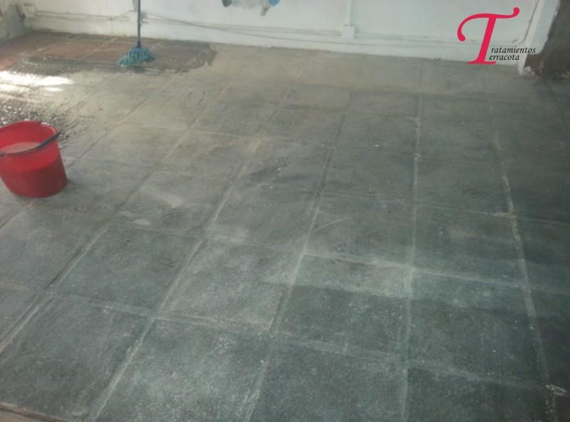 mantener suelos de barro