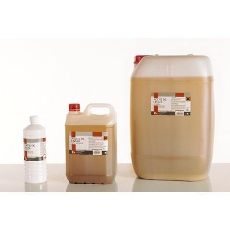 tratamiento suelos de barro aceite de linaza